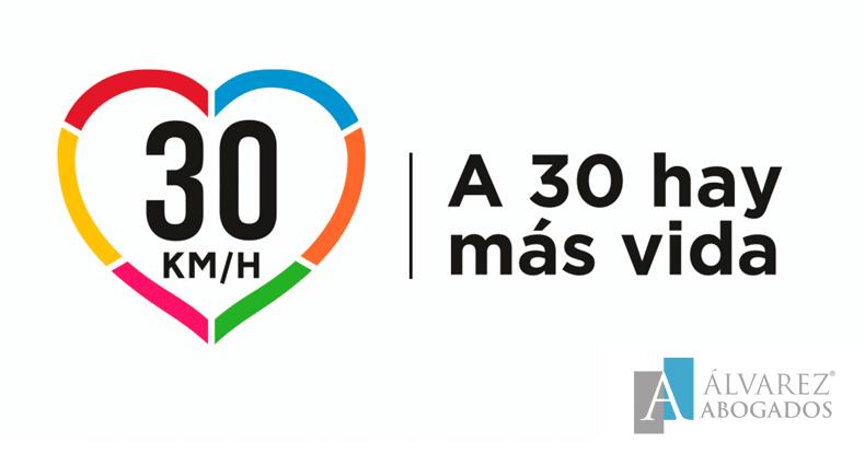 Límite de velocidad a 30km/h DGT